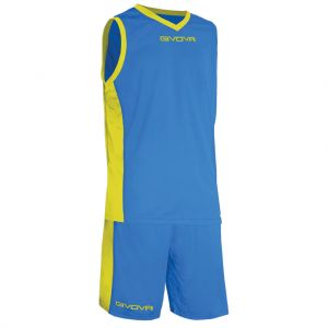givova baloncesto power azzurro giallo